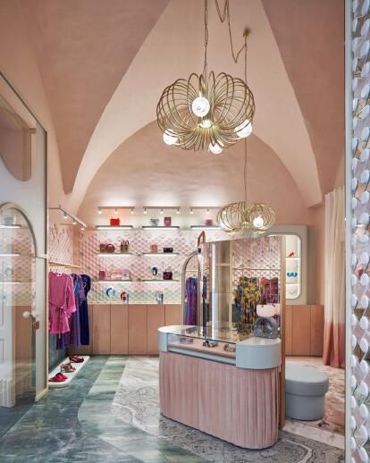 The Pink Closet – Palazzo Avino Boutique
