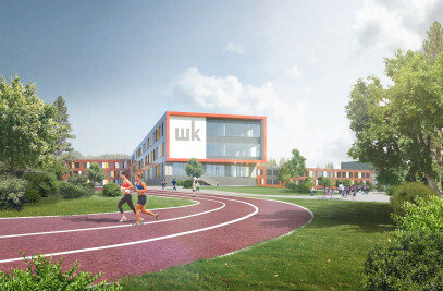 School for 2100 students in Troitsk
