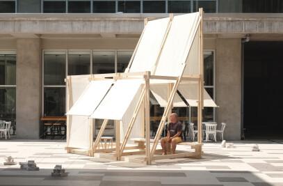 Geçit wood pavilion