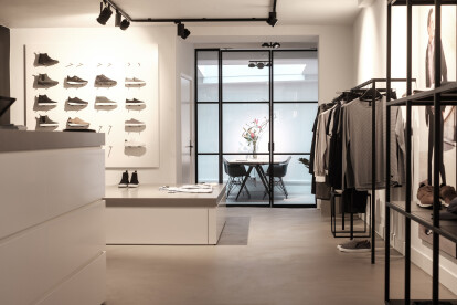 For the premium men's fashion brand WAHTS we have created a concept and interior design for their Brand Store in Amsterdam.   #brandstore #Amsterdam #retail #VisualMerchandising #interior #window #design #styling #fashion #luxury #