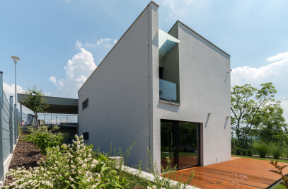 Villa on a slope