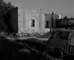 photo 2: The stone farmhouse, a characteristic type of island's vernacular architecture.