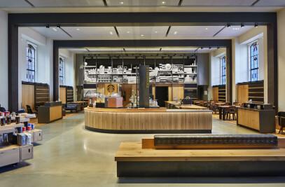 Starbucks at Suzzallo Library, University of Washi