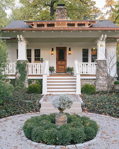 1920s Home Exterior