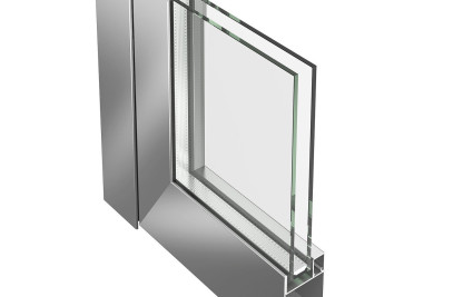 Jansen Economy 50 steel and stainless door