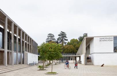 New City Hall In Nancagua