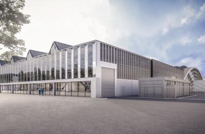 Hall 5 expansion underway at RAI Amsterdam