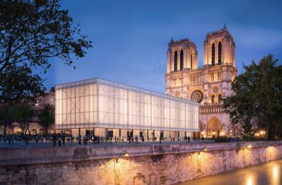 Temporary Pavillon Notre‑Dame