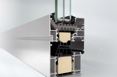 Schüco aluminium systems windows