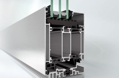 Schüco aluminium systems doors