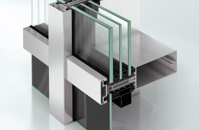 Schüco aluminium systems facades