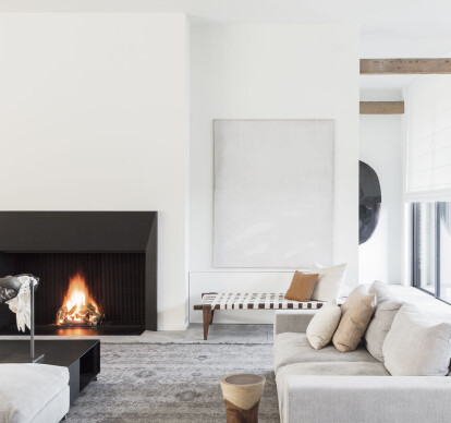 Universal Wood Open Fireplaces