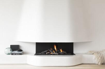 Urban Gas Open Fireplaces