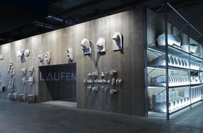 Showroom Laufen Bathrooms at Salone del Mobile