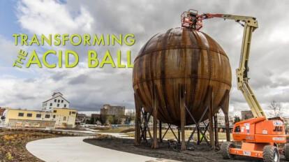 Transforming the Acid Ball | Architectural Elements + Mutuus Studios