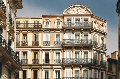 Renovation of Hotel Saint-Louis