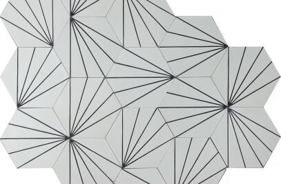Dandelion – pure white/charcoal