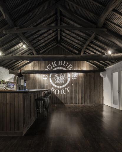 Cockburn's 1815 Lodge (wine cellars)