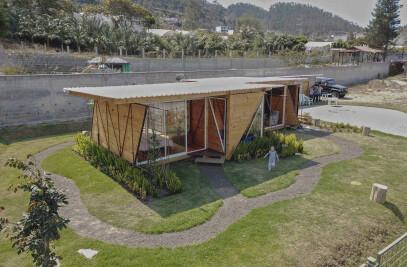 Orange lemon House
