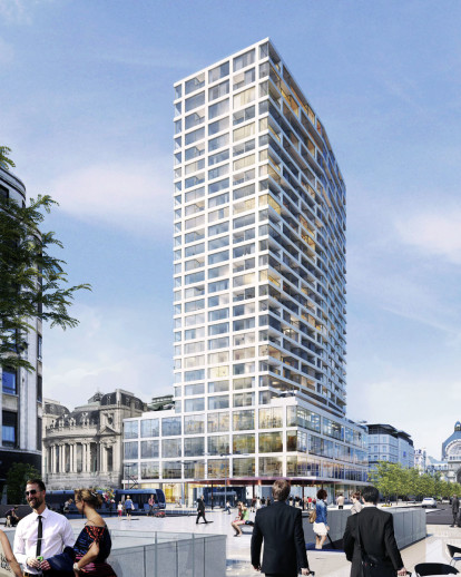 Renovation of the Antwerp Tower