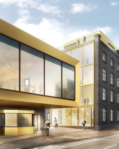 Residential and office building Hage loft