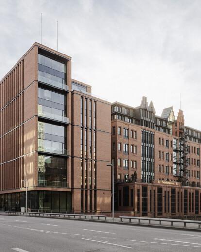 Extension for Gebr. Heinemann headquarters