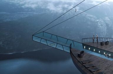 Gravity Defying Pool Concept Creates A New Star via Social Media