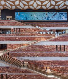 Travertine in Architecture