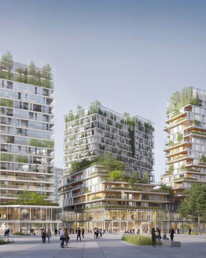Victor Hugo mixed use Eco District
