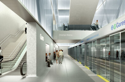 Rennes Metro Main Station