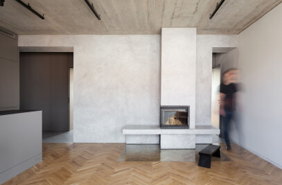 Minimalist Apartment in Prague