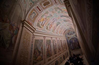 The Sancta Sanctorum complex. Lighting sacred plac