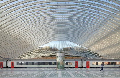 Guillemins Railway Station – Liegi