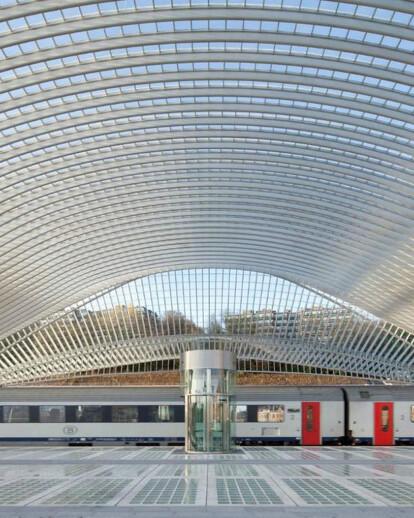 Guillemins Railway Station – Liegi