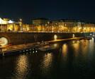Riverfront panorama