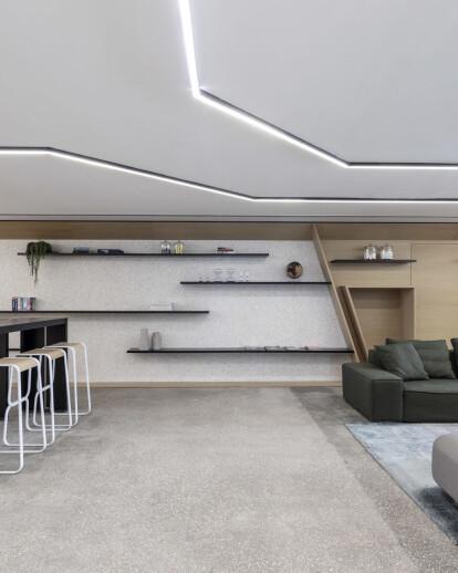 The Terrazzo concrete office