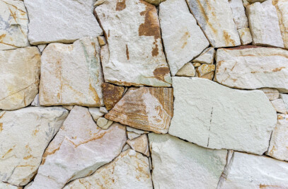 Crackenback® Freeform® natural stone walling
