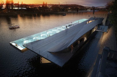 The rebirth of the Prague's riverfront