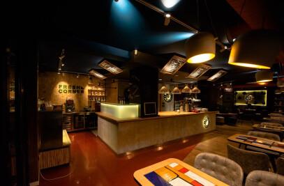 Barista's coffee shop