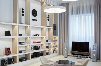 VOIX – showroom audio video