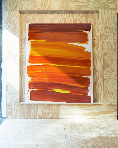 Denny Dimin Gallery Installation