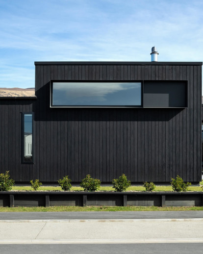 Charred Timber House