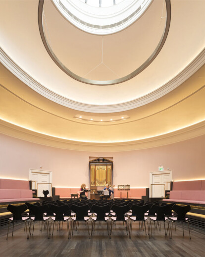 The Redevelopment of Saint Cecilia's Hall