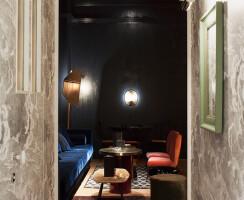 """Mr. Simon"" secret cocktail bar by Visual Display"