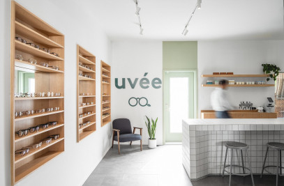 Uvée: eco-responsible optometry clinic