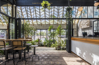 Hoegaarden Greenhouse Bar