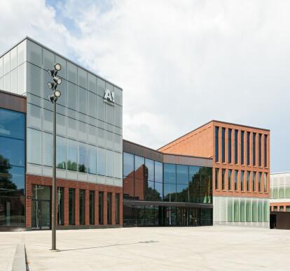 Aalto University campus block