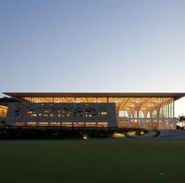Haesley Nine Bridges Golf Clubhouse