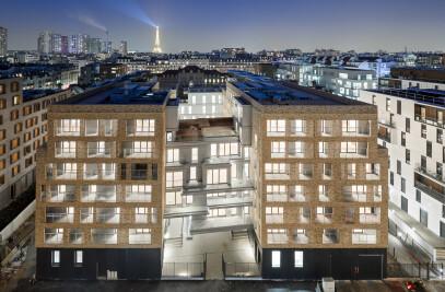 109 housing units, Parix XV