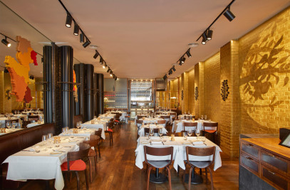 The Enoteca Turi restaurant